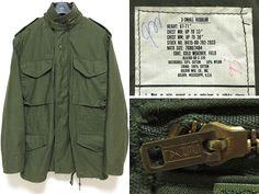 希少サイズ 米軍実物 80年製 M-65フィールドジャケット XS-R美品_画像1