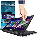 SmartGlaze ( Pack Of 3 ) ASUS Transformer Book Flip TP550LA 15.6 2 in 1 Laptop Case Custom Made Crystal Clear Premium LCD Screen Protectors Packs With Polishing Cloth & Application Card