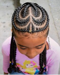 Little Black Girls Hairstyles Simple Black Little Girls Hair Styles  Pinterest  Cornrow Designs Black