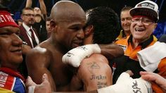 Floyd Mayweather beats Manny Pacquiao by unanimous points decision in the 'battle of the century'