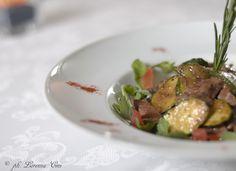 fillet with grilled vegetables