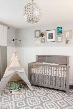Tipi pour la déco de la chambre bébé