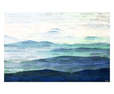 Stampa su canvas Mountain Tops