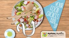 MyPlate comes to life in this fun, animated video! #MyPlateMyWins #nutrition #education #video