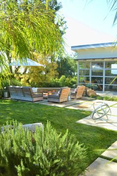 Santa Barbara modern ranch, CA. Jeffrey Gordon Smith Landscape...