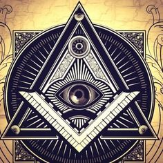 Illuminati Wallpapers HD Quotes Backgrounds with Art Collections and Inspiration. Illuminati Secrets, All Seeing Eye Tattoo, Masonic Symbols, Hd Quotes, Quote Backgrounds, Sacred Geometry, Tattoo Ideas, Freemasonry, Traditional Tattoos