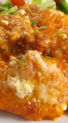 Bubble Up Lasagna