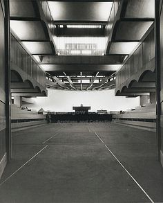 Photograph of St Peter's College from the Gillespie, Kidd & Coia Archive in the Glasgow School of Art Archives and Collections (Archive reference: Library Architecture, Landscape Architecture, Interior Architecture, Urban Tribes, Archive Library, Glasgow School Of Art, Roof Light, Brutalist, Arquitetura