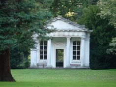 In the park at Osterley House,London, England is the Temple of Pan. - Google Search