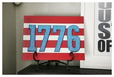 #papercraft #patriotic project eighteen25: Past Projects   Fourth of July