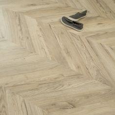 Signature Grandeur Oak Parquet Herringbone Laminate - Premium from Discount Flooring Depot UK