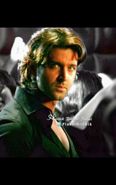 """ taught us the 'If you got it, flaunt it' mantra and set the screen on fire in his open shirts. Bollywood Actors, Bollywood Celebrities, Dhoom 2, Jodhaa Akbar, Aamir Khan, Handsome Faces, Greek Gods, Katrina Kaif, Hrithik Roshan"
