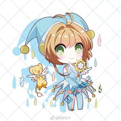 Syaoran, Cardcaptor Sakura, People Illustration, Illustration Art, Animal Drawings, Cute Drawings, Ashita No Nadja, Clear Card, Kawaii Chibi
