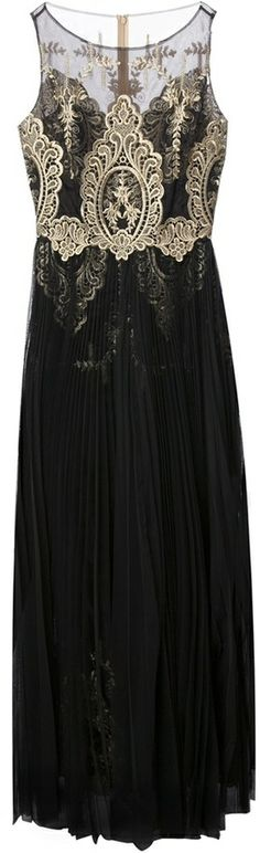 97e28b13bf41 Notte By Marchesa Embroidered Evening Gown - Lyst jaglady for Annmarie