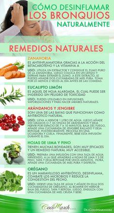remedios para bronquios inflamados