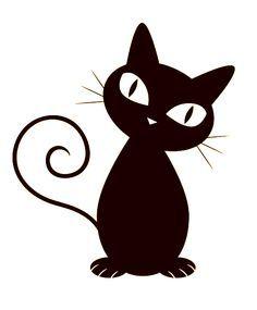 dibujos gatitos negros - Buscar con Google
