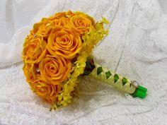 Buque de Rosas EVA Amarelo