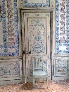 Dutch tiles.