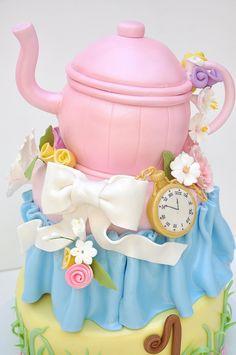 Little girl fairytale cake!!