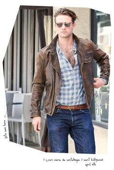 Dita's guy - Louis Marie de Castelbajac - good clothes.... too many buttons undone though lol