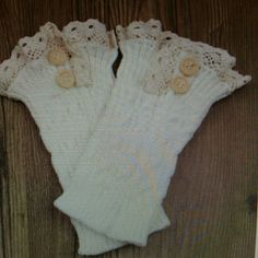 NWT White Crochet Knit Lace Trim Boot Cuffs Socks! A nice way to dress up your boots! I am selling a pair of brand new White crochet knitted boot cuffs with lace trimming! I have my own pair and I get so many compliments when I wear mine! Looks good with any size boots! You can wear with jeans,  leggings or on bare skin! Feel free to ask questions and thanks for looking! Material is knitting wool  Length is about 8.6 inches.   Width is almost 4 inches. Accessories Hosiery & Socks