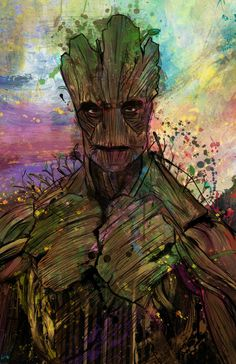 I am Groot (GOTG) by j2Artist