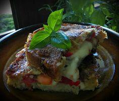 Co podpowie głowa, ręce zrobią, a język posmakuje: Kanapka na ciepło- smak włoskiej bruschetty... ina...