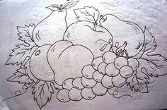 Resultado de imagen para bonecas frutas para pintura em tecido