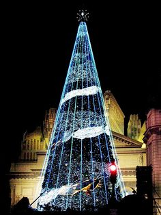 Christmas tree, Osaka, Japan