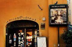 antica enoteca - Via della Croce near Spanish steps. Old school and good food.