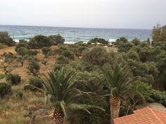 Rodakino, uitzicht vanaf het balkon