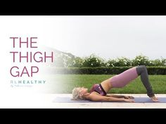 Shape those leg and create the thigh gap with this awesome workout that targets the inner thigh. By the end of the 10 minutes your inside legs will feel like jelly and you might walk funny for a minute or two! Cellulite Exercises, Cellulite Remedies, Thigh Exercises, Thigh Workouts, Cellulite Workout, Body Workouts, Fitness Workouts, Fitness Tips, Health Fitness