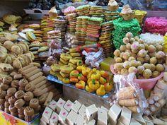 """#AhoraEnEl22 los dulces de plátano, de mango, de coyol, de chilacayote, de papaya y turulete son """"Sabores de Chiapas"""""""