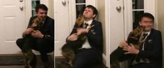 Existem laços muito fortes entre um homem e o seucão. Este caso recente mostraNathan Back que volta para casa, após dois anos numa missão em Mormon, na Rússia. O rapaz de 21 anos teve esta agradável …