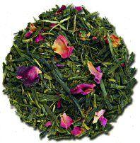 Pretty: Sencha Kyoto Cherry Rose Festival Tea from Culinary Teas - A tea review by Sororiteasisters