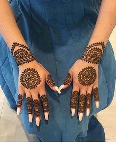 New bridal mehndi designs brides beautiful henna art ideas Henna Hand Designs, Dulhan Mehndi Designs, New Bridal Mehndi Designs, Mehndi Designs Finger, Mehndi Designs For Girls, Mehndi Designs For Beginners, Mehndi Designs For Fingers, Unique Mehndi Designs, Latest Mehndi Designs
