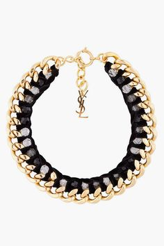 YSL MUST HAVE!! Gorgeous neckless// EDITOR'S STYLE #JANESSAKINMIAMI #KINMIAMI