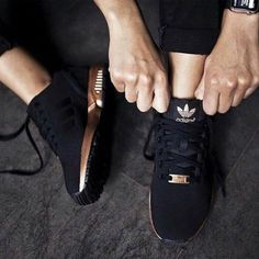 Adidas ZX Flux black and rose gold Sold out limited edition rose gold and black adidas ZX Flux. Brand new. Never worn. Comes with box. Not interested in trades. These run a little big. Will sell for a little less on Mercari. Adidas Shoes Athletic Shoes