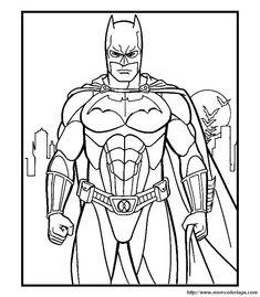 Coloriage Batman A Colorier