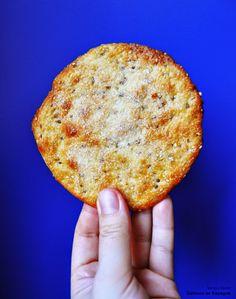 Biscuits espagnols croustillants au sésame et à l'anis vert: tortas de aceite