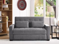 3 seat functions: Sofa, lounger and bed Futon Couch, Sofa, Pull Out Bed, Humble Abode, Queen Beds, Sunroom, Queen Size, Love Seat, Furniture