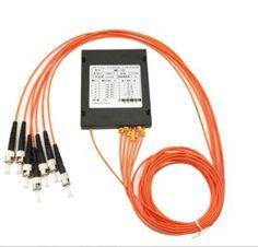 1 to 6 Multimode ABS Module PLC Fiber Optic Splitter (4)
