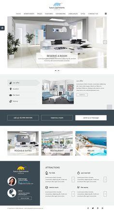 JM Apartments Hotel Joomla Template