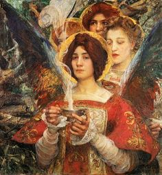 Soul of the Forest - Edgar Maxence 1898
