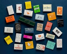 matchbooks | alvin diec studio Brand Packaging, Packaging Design, Branding Design, Clever Packaging, Restaurant Identity, Collateral Design, Paper Plane, Poster S, Graphic Design Typography