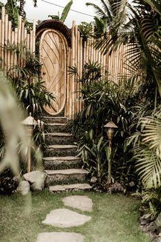 Camaya Bali Bamboo House Bali, Bamboo House Design, Cabana, Bali Style Home, Bamboo Landscape, Compound Wall, Bamboo Structure, Bamboo Architecture, Welcome To My House
