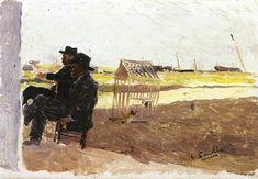 The Athenaeum - The Beach, Valencia (Joaquin Sorolla y Bastida - )