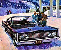 """1965 Mercury Monterey 2 Door Hardtop  """"Chosen by Aspen Meadows; Aspen, Colorado, as their courtesy car for special guests."""""""