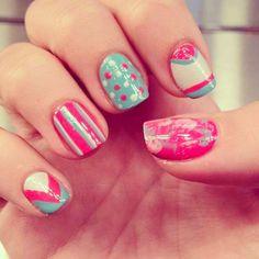 Instagram photo by misspopnails #nail #nails #nailart