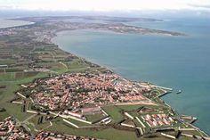 St-Martin-de-Ré, on Ile de Ré, an island in the Atlantic just off La Rochelle.